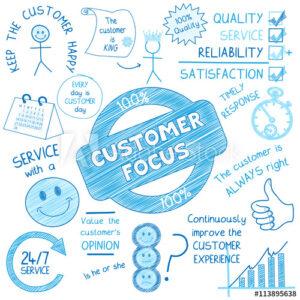 El enfoque a los clientes